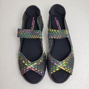 Sketchers Memory Foam Lightweight Sandals Sz 11